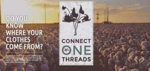 Image of Connect One Threads logo, a social enterprise organisation.