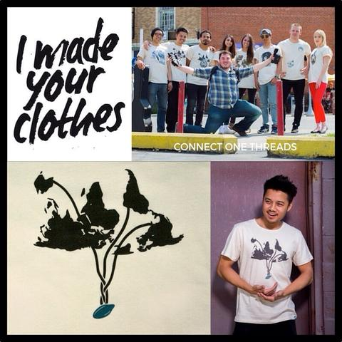 Image of I Made Your Clothes logo.