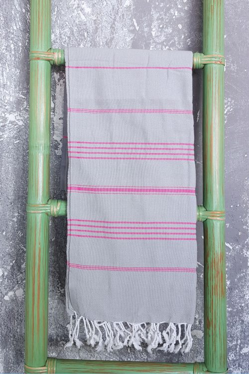 Real.m Ombak Towel Grey