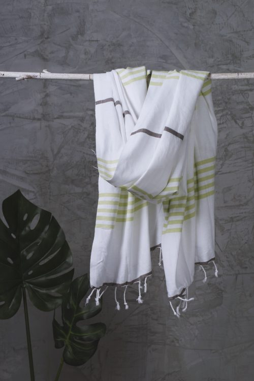Real.m Towel Layar Olive Brown 1
