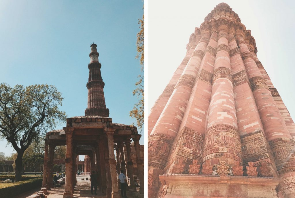 Real.m 3 Days in India Blog Qutub Minar 1
